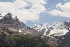 Montan@as en Suiza Fotografía de archivo