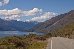 Montan@as meridionales, Nueva Zelandia imagenes de archivo