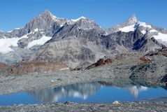 Montan@as Suiza Fotos de archivo