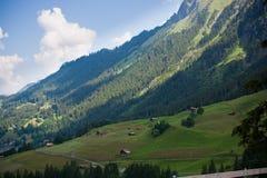Montan@as suizas Imágenes de archivo libres de regalías