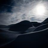 Montan@as suizas en invierno Imagen de archivo