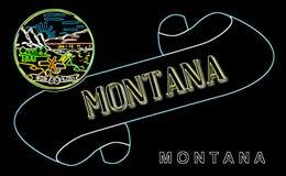 Montana ślimacznica royalty ilustracja