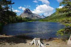Montana. Lake in Glacier National Park, Montana Royalty Free Stock Photo