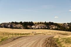 Montana Backroad Stockfotografie