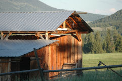 Montana Barn Stock Images