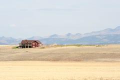 Montana-Bauernhaus Stockfotos