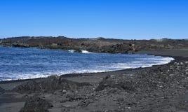 Montana Bermeja Beach in Lanzarote, Canary Islands, Spain Royalty Free Stock Photo