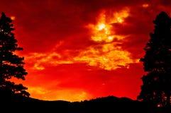 Montana Big Sky salvaje Fotografía de archivo