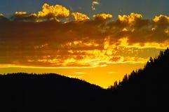 Montana Big Sky salvaje Foto de archivo libre de regalías