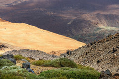 Montana Blanca, Teide National Park, Tenerife Stock Photos