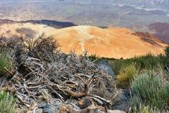 Montana Blanca, Teide National Park, Tenerife Royalty Free Stock Photography
