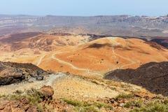 Montana Blanca, Teide National Park, Tenerife Stock Image