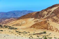 Montana Blanca, Teide National Park, Tenerife Royalty Free Stock Photo