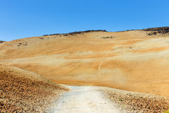 Montana Blanca, Teide National Park, Tenerife Royalty Free Stock Images
