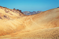 Montana Blanca in Teide National Park, Tenerife Stock Images