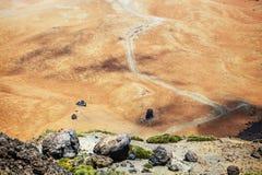 Montana Blanca in Teide National Park, Tenerife Royalty Free Stock Image