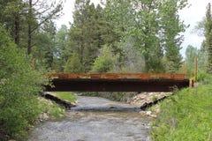 Montana Bridge Stock Photography