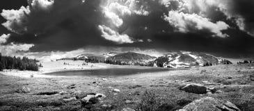 Montana burza Obraz Stock