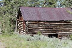 Montana Cabin Royalty Free Stock Image