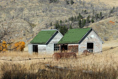 Montana Cabins Photo stock