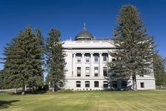 Montana - Capitólio do estado fotografia de stock royalty free