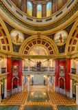Montana Capitol Building lobby Royalty Free Stock Photos