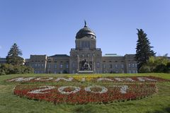 Montana - capitolio del estado Fotos de archivo