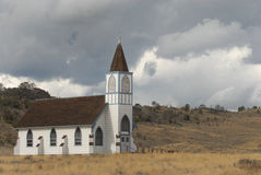 Montana Church Image stock