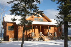 Montana cottage Royalty Free Stock Images