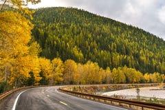 A Montana Fall. Autumn in Montana, Western United States Stock Photos