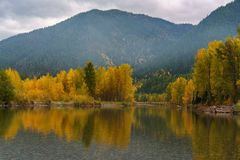 A Montana Fall. Autumn in Montana, Western United States Royalty Free Stock Image