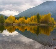 A Montana Fall. Autumn in Montana, Western United States Royalty Free Stock Photos