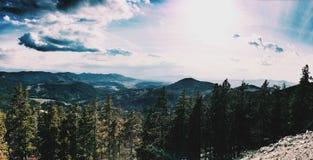 Montana góry Zdjęcia Royalty Free