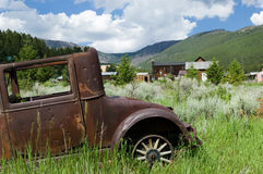 Montana ghost town Stock Image