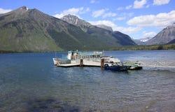 Montana glaciärnationalpark, USA Arkivbilder