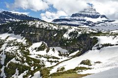 Montana Glaciers Stock Photography