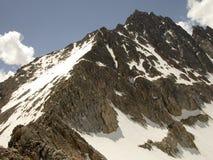 Montana granitowy szczyt obraz royalty free