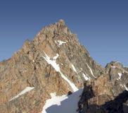 Montana granitowy szczyt Zdjęcia Royalty Free