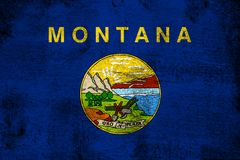 Montana royalty free illustration