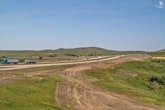 Montana Interstate fotos de archivo