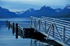Montana jezioro McDonald Zdjęcia Stock