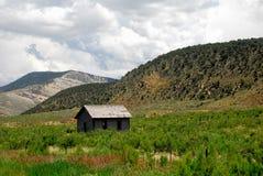 Montana kabin Royaltyfri Foto