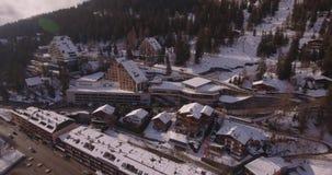 Montana kabinowy czołowy podróżowanie - antena 4K zbiory