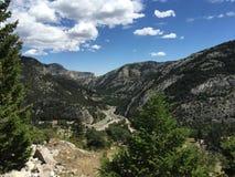 Montana krajobraz Zdjęcia Royalty Free