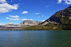 Montana Lake St Mary Royalty Free Stock Photography
