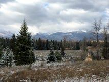 Montana Landscape Immagine Stock