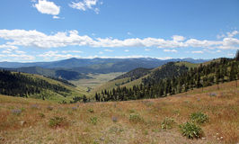 Montana Landscapes. Beautiful Montana mountains and spacious landscapes Royalty Free Stock Photo