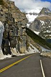 Montana Mountain Road Arkivbilder