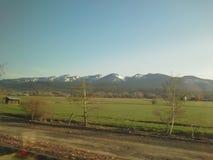 Montana Mountains stock foto's