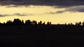 Montana mountains Coffee golden sunsets Stock Photos